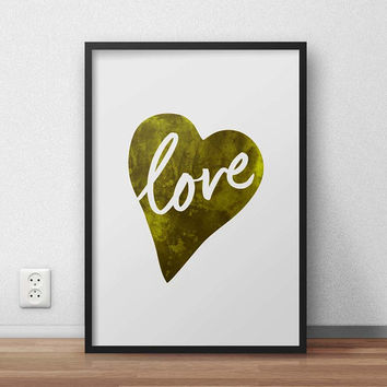 Love, (Instant Download) , 300 dpi, Popular Digital Art