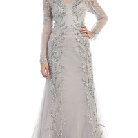Mother of the Bride Plus Size Formal Long Dress