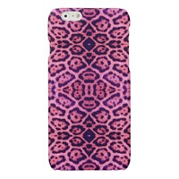 Jaguar Fur in Pink and Purple Glossy iPhone 6 Case
