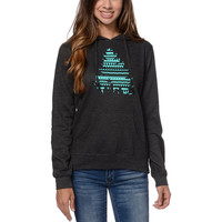 Casual Industrees El Johnny Tree Girls Charcoal Pullover Hoodie at Zumiez : PDP