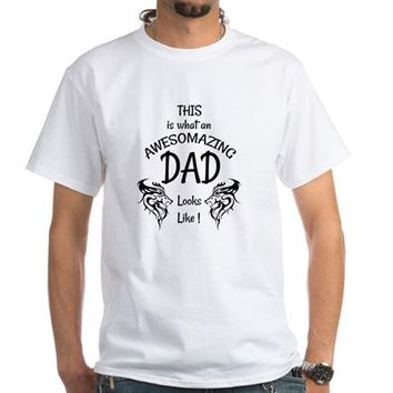 Awesome and Amazing Dad Men's Classic T-Shirts