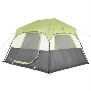Coleman Signature Tent Instant Cabin 6 Person w-Rainfly