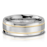 Men's SK Cobalt Wedding Band 7mm