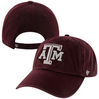 47 Brand Texas A&M Aggies Clean-Up Adjustable Hat - Maroon