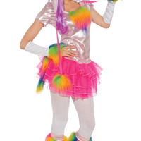 Womens Rainbow Unicorn Costume