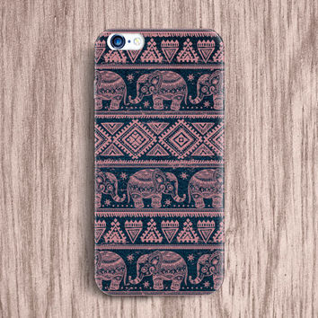 Elephant Aztec iPhone 5 6 Case Accessories Pastel Cute iPhone Cover Samsung Galaxy S5 S4 mini case Geometric Case Unique iPhone Case [47]