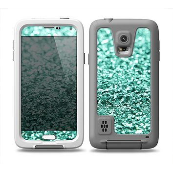 The Glimmer Green Skin Samsung Galaxy S5 frē LifeProof Case