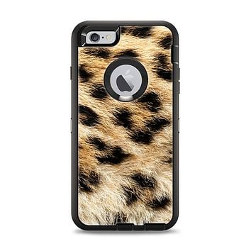 The Real Cheetah Animal Print Apple iPhone 6 Plus Otterbox Defender Case Skin Set
