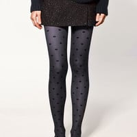 POLKA DOT BLUE STOCKINGS - Collection - Accessories - Collection - Woman - ZARA United States