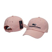 Perfect Vineyard Vines Women Men Embroidery  Sports Sun Hat Baseball Cap Hat