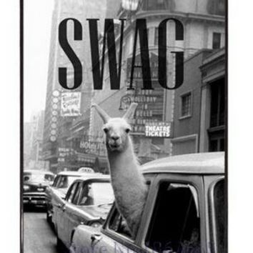SWAG Cute Llama Alpacas iPhone Case