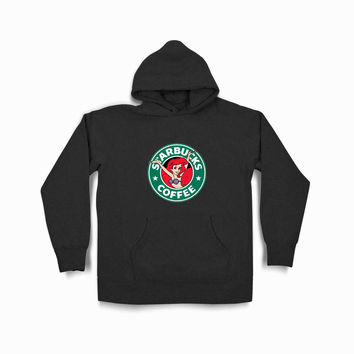 Disney Princess Ariel Mermaid As Starbucks Logo Tvk Black Hoodie