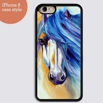 iphone 6 cover,watercolor Horse colorful iphone 6 plus,Feather IPhone 4,4s case,color IPhone 5s,vivid IPhone 5c,IPhone 5 case Waterproof 428