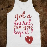 got a secret, can you keep it? Pll pretty little liars tank