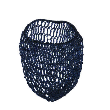 Navy Blue Snood Hair Net