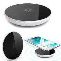 Universal Qi Wireless Charger Charging Pad For Samsung Galaxy S3 S4 i9500 N7100/Iphone 4 5/Nokia AP D_L (Color: White) = 1713185540