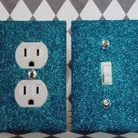 XXX Glitter Switch Plate Outlet Covers, SET OF 2, ALL Styles Available!