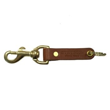 Stetson Leather Key Fob