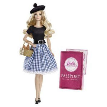 Barbie Collector Dolls of The World France Doll