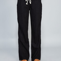 Relaxed Linen Wide-Leg Pants | Wet Seal