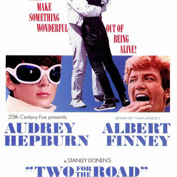 Two for the Road 11x17 Movie Poster (1967)