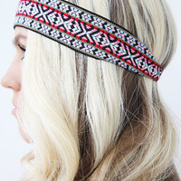 Bohemian Tribal Unisex Hair Band Great Workout Headband