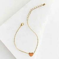 Delicate Heart Bracelet- Gold One