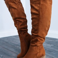 Changing Seasons Boots: Chestnut
