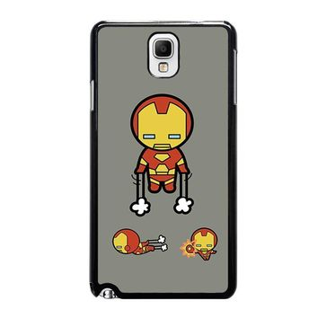 iron man kawaii marvel avengers samsung galaxy note 3 case cover  number 1