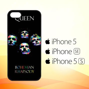 QUEEN BAND C0009  iPhone 5|5S|SE Case
