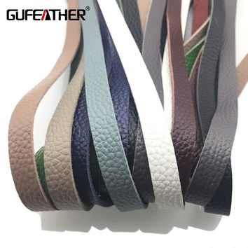 GUFEATHER/jewelry accessories/accessories parts/diy/jewelry findings & components/jewelry findings/Genuine Leather 90CM
