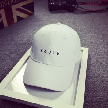 YOUTH Embroidered Baseball Hat Cap