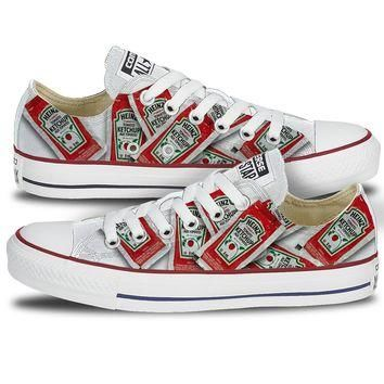 Youth Heinz Single Serve Ketchup Converse Low Top