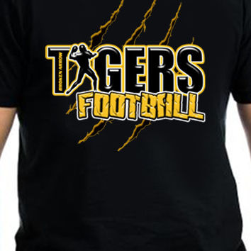 Broken Arrow Tiger Football T-Shirt