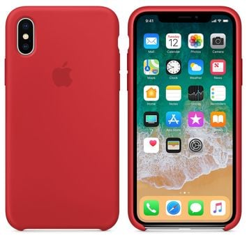 iPhone X Silicone Case - Lemonade