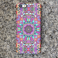 Artistic Floral iPhone 6s Case iPhone 6 plus Case Ethnic iPhone 5 Case iPhone 5C iPhone 4S Case Samsung Galaxy S6 edge S6 S5 S4 S3 Case 051