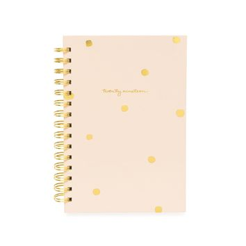 Small Spiral Agenda, Pink Imperfect Dot 2019
