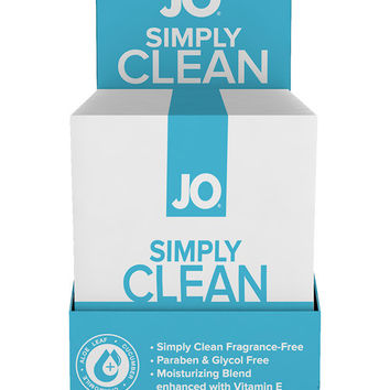 Jo Personal Cleansing Wipes Single - Simply Clean