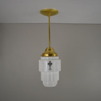 Stencil Skyscraper Pendant Light