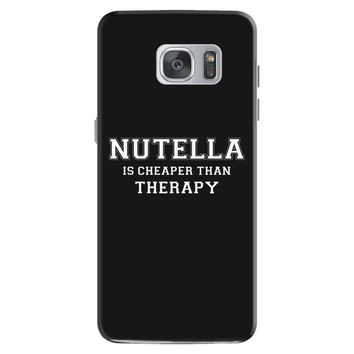 Nutella Is Cheaper Than Therapy Samsung Galaxy S7