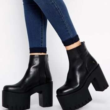 Windsor Smith Haven Cleated Chunky Sole Boots