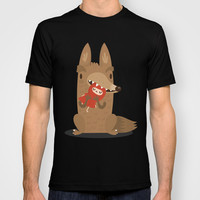 Poor little red T-shirt by Maria Jose Da Luz   Society6