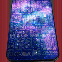 Doctor Who Quotes,trust me im doctor for iPhone 4/4s/5/5S/5C/6/6+, Samsung S3/S4/S5 Case *95*