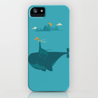 Nature's Submarine iPhone Case by Jay Fleck | Society6