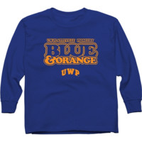 Wisconsin-Platteville Pioneers Youth Our Colors Long Sleeve T-Shirt - Royal Blue - http://www.shareasale.com/m-pr.cfm?merchantID=7124&userID=1042934&productID=546715788 / Wisconsin-Platteville Pioneers