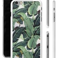 Beverly Hills Chic Glam Banana Leaf Apple iPhone 4 4s 5 5s 6 Plus Phone Case