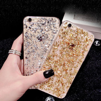 BIGSALE Sparkling sand mobile phone case for iphone 7 5s SE 6 6 ce0712186