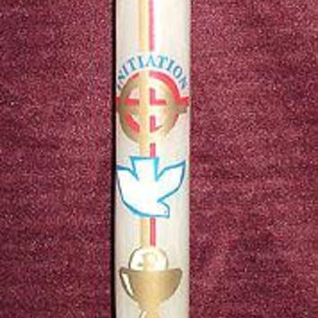 48 Christian Candles - Religious Initiation