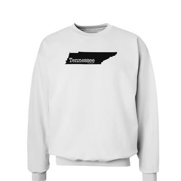 Tennessee - United States Shape Sweatshirt by TooLoud
