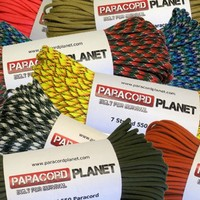 Paracord Planet Nylon 550lb Type III 7 Strand Paracord Made in the U.S.A. | deviazon.com